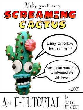 screaming cactus glass bead tutorial