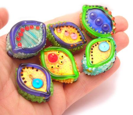 lori greenberg venus glass beads