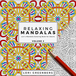 Relaxing Mandalas Adult Coloring Book Volume 2