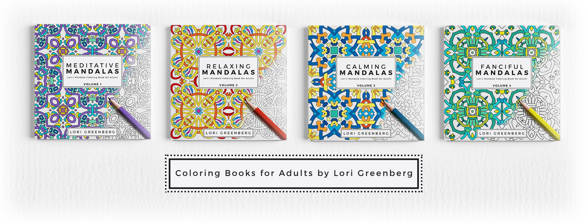 Lori Greenberg Coloring Books for Adults