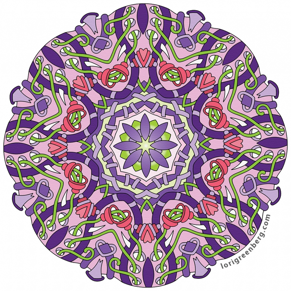 Coloring Gallery | Lori Greenberg Coloring Books for Adults