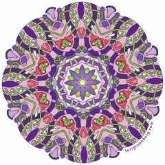 2016-12-16 From Calming Mandalas, Volume 3