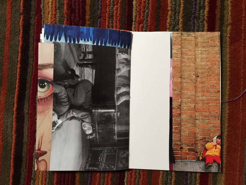 Image of a jumble journal in progress